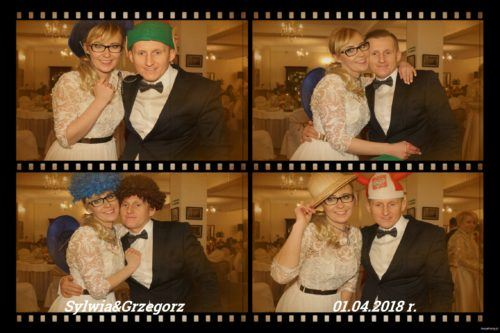 Z fotobudką na weselu